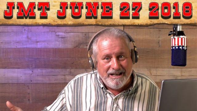 John Martin Talks Wednesday June 27, 2018