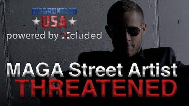 Disgruntled USA   MAGA Street Artist ...