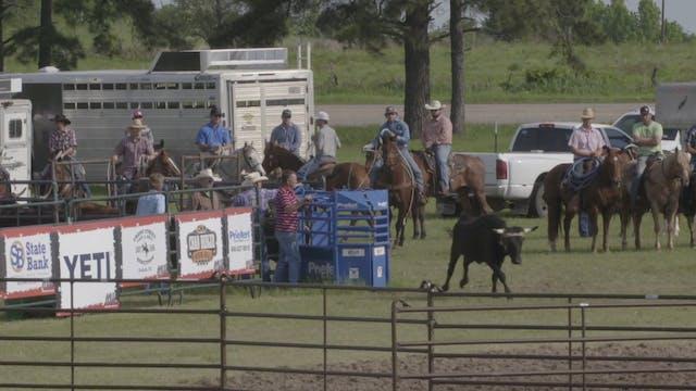 Mike White Pasture Roping Round 1