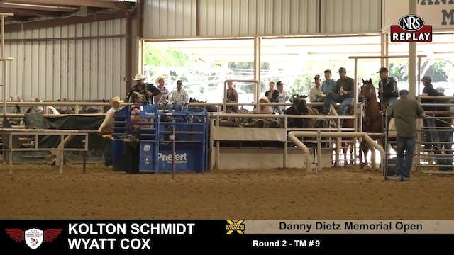 Danny Dietz Memorial - Round 2