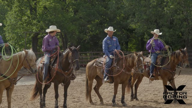 Roping Session with Clay Tryan