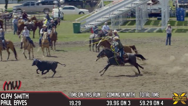 2019 Mike White Pasture Roping