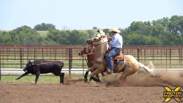 Casey Hicks' Strategy Handling Steers...