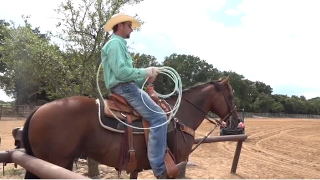 First Swing and Releasing Your Horse with Justin Davis