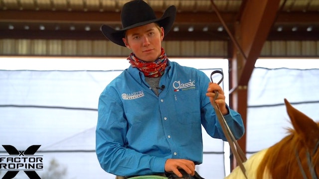 Positioning Your Horse Throughout the Run with Brenten Hall