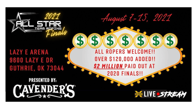 All Star Team Roping - 9.5 Handicap Truck Roping (601-1300+) and Short Round