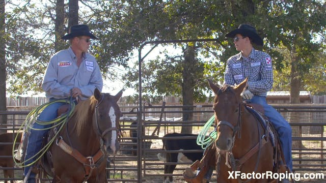 Heeling Steers that Step Right with M...