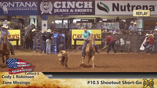 ASTR Live Roping - Day 5 - #105 Shoot...