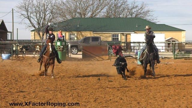 Heeling Position On A Steer That Runs...
