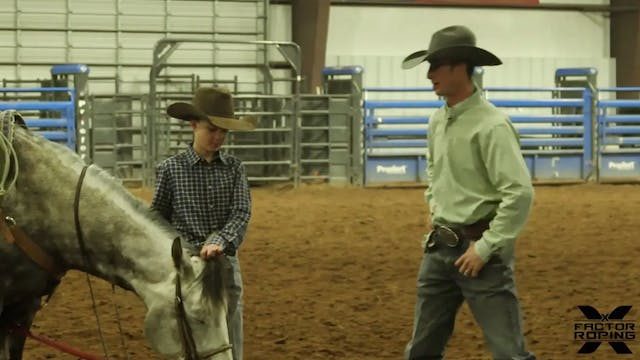JoJo Lemond Works With His Son Newt A...