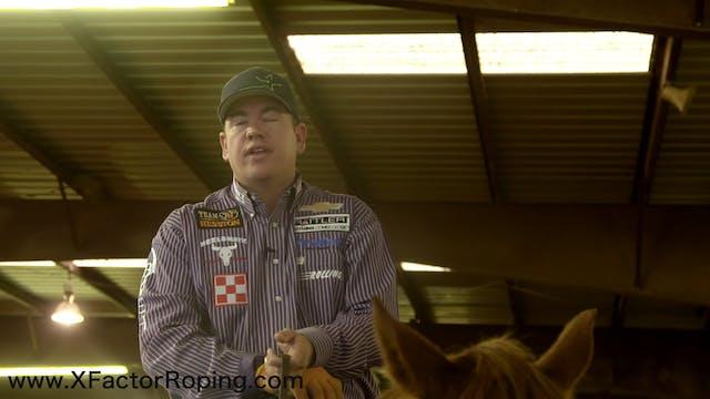 Heeling Position on Cattle That Run R...