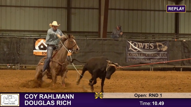 Cody Nessmith Memorial - Round 1