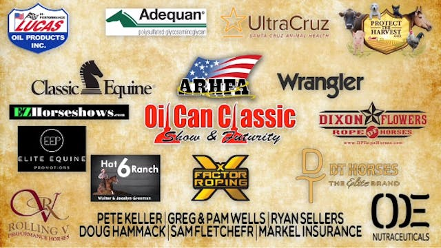 Oil Can Classic Heeling Round 1 Part 3/3