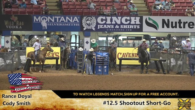 ASTR Live Roping - Day 3 - #12.5 Shoo...
