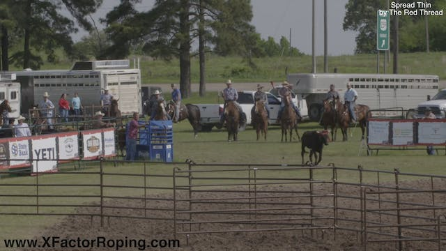 Mike White Open Pasture Roping