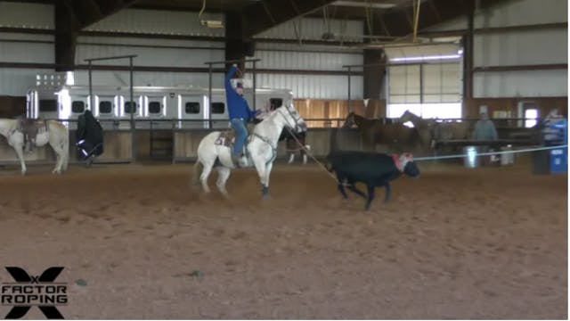 NFR Practice Footage Cole Davison and...