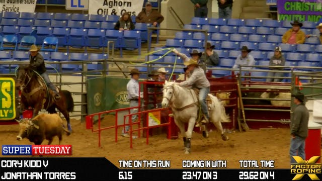 2019 Super Tuesday Team Roping Round 4