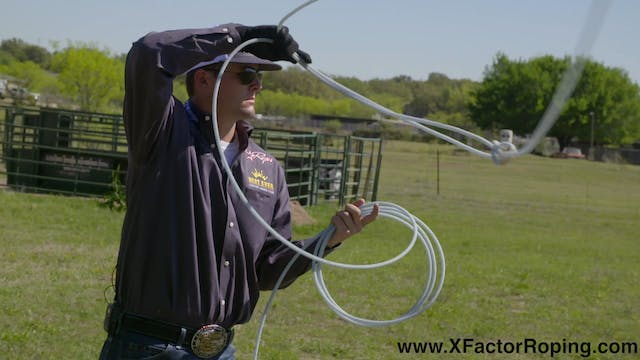Dummy Roping Practice Session with Du...