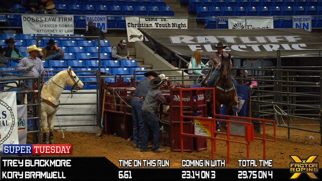 2020 Super Tuesday Open Team Roping R...