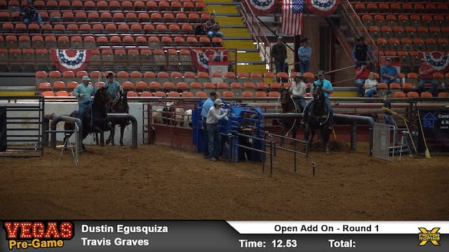 """Vegas Pre-Game """"Add On Roping"""" Rounds..."""