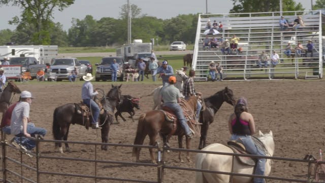 Mike White Pasture Roping Round 2 Part 2