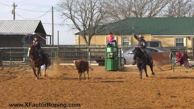 Live Run Quinn Breaking Down Position...