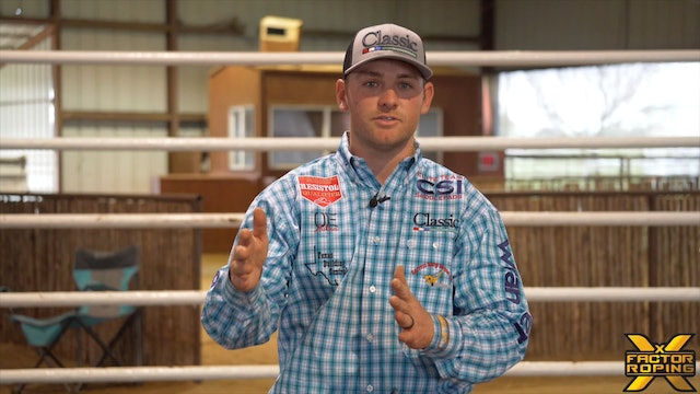 Lane Position on Steers That Run Up the Rope with Tyler Wade
