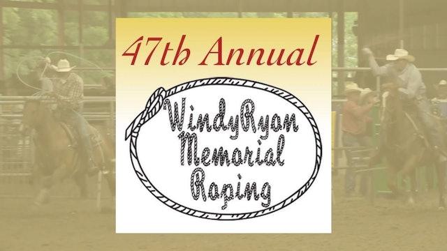 Windy Ryon Memorial Open Roping