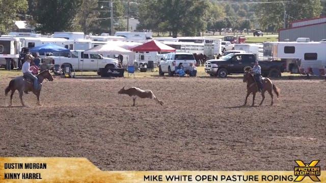 Mike White Pasture Roping Round 1 - P...