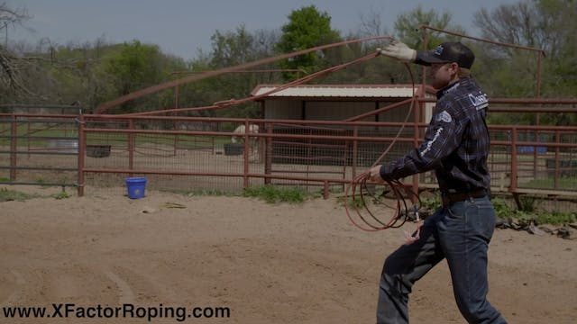 Dummy Roping Session in Slow Motion w...