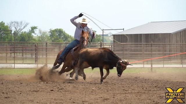 Billie Jack Saeben's Ideal Horse Position Entering the Turn