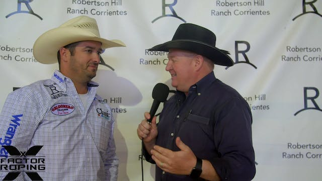 Post Roping Interview with Austin Rob...