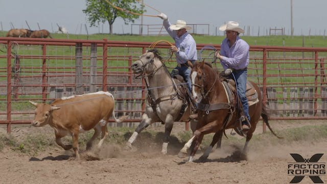 Reason For Roping Right Leg Only with...