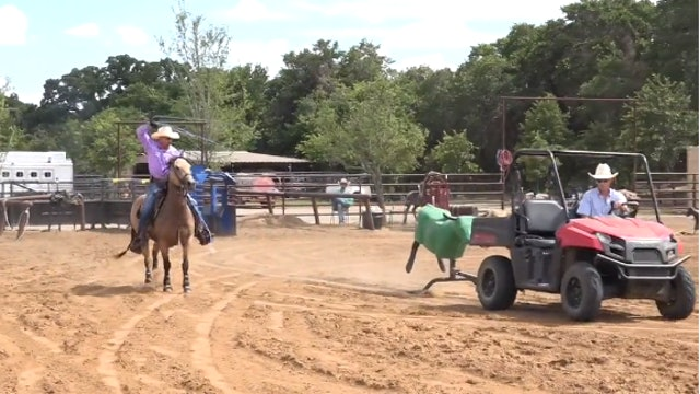 Reasons to Stop Your Horse in the Practice Pen with Trey Johnson