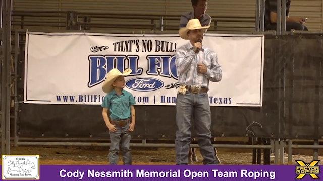 Cody Nessmith Memorial - Tribute & Short Round