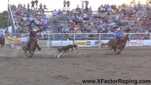Jake Barnes and Tyler Worley Rodeo Run