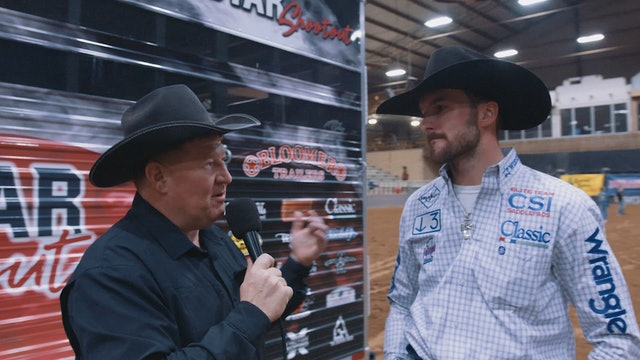 Interview with Lone Star Shootout Champion Heeler Caleb Anderson