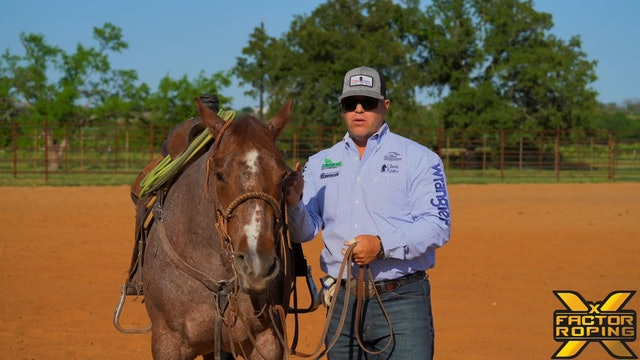 Making Sure Your Horse Has Feel During The Run with Rhett Baker