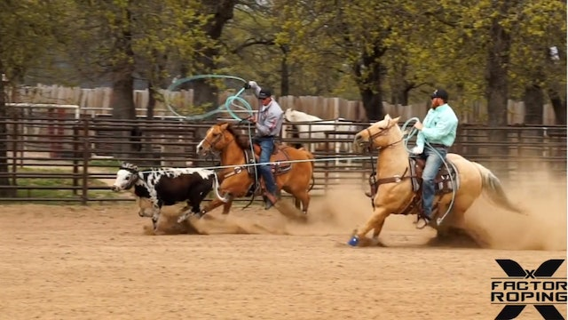 Marty Becker and Dustin Searcy Heeling