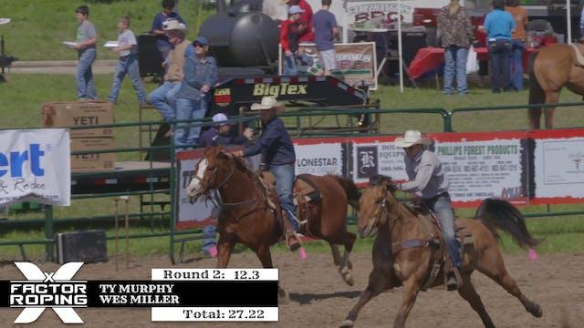 2018 Mike White Pasture Roping Round ...