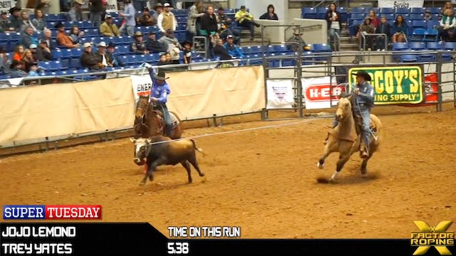 Super Tuesday Match Roping