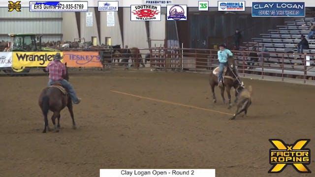 2021 Clay Logan Open Round 2 Part 1/2