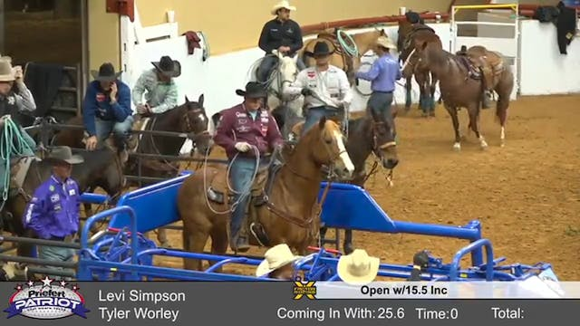 The Patriot Open Roping w/ 15.5 Inc (...