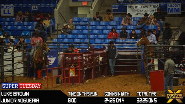 2020 Super Tuesday Open Team Roping S...