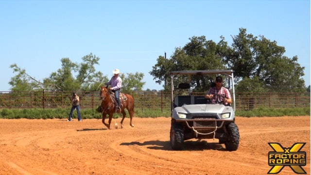 Buddy Hawkins Placing Your Horse On The Outside When Roping A Machine