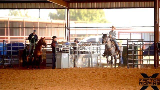 Roping on Young Horses with Tate Kirc...