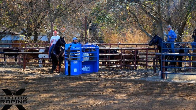 Cody Snow and Wesley Thorp NFR Practi...