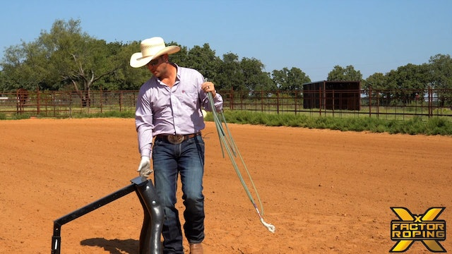 Heeler Positioning Down The Arena Part 2 of 4 with Buddy Hawkins