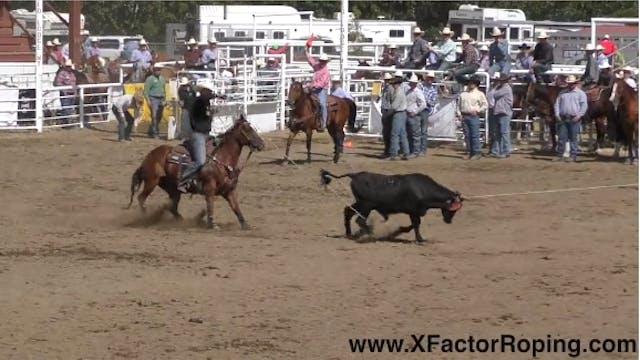 Lane Ivy and Buddy Hawkins Rodeo Run ...