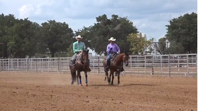 Taking Extra Swing When Steer Comes Left with Justin Davis
